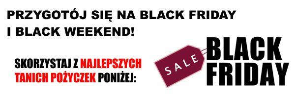 Pożyczki promocje Black Friday