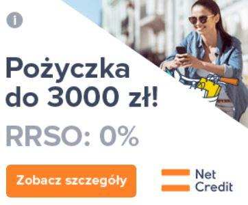 NetCredit Banner pożyczka online