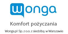 Pożyczka w Wonga logo